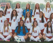 2013 Varsity Girls Team