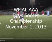 2013 WPIAL Final match